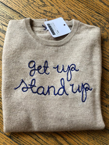 "Lingua Franca ""get up stand up"""