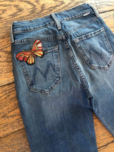 Load image into Gallery viewer, Mother The Tripper Butterfly Jean