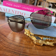 Load image into Gallery viewer, YSL Logo Lens Sunglasses