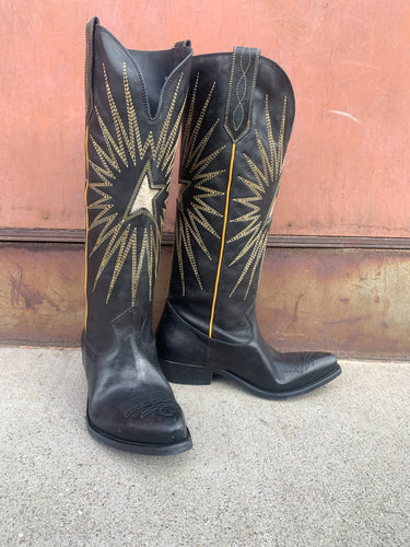 Golden Goose Tall Wish Star Boot