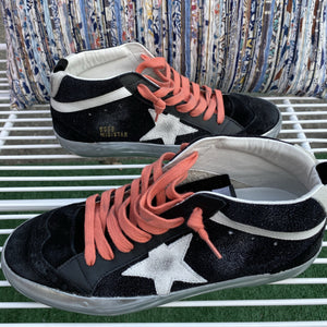Golden Goose Midstar Pink Laces
