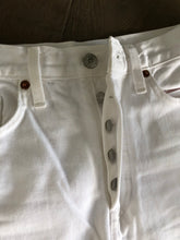 RE/DONE White 70's Stove Pipe Jean