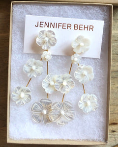 Jennifer Behr Mother of Pearl Coralia Earring