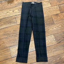 Avenue Montaigne Franco Flannel Shadow Plaid Cuff Pant