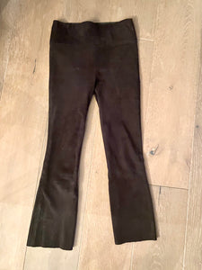 SPRWMN Black Suede Leggings