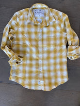 Load image into Gallery viewer, F&E Mustard Barry Flannel Shirt