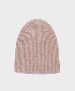 White + Warren Plush Rib Beanie