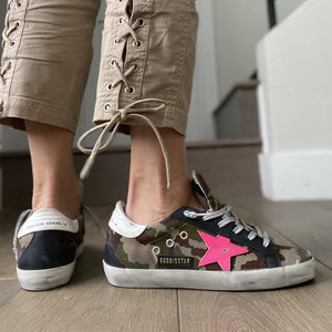 Golden Goose Superstar Camo