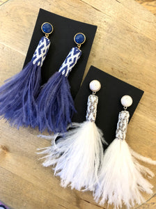 Mignonne Gavigan Feather Carrie Earrings