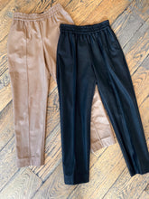 Nude Faux Leather Jogger