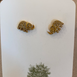 Evergreen Elephant Studs