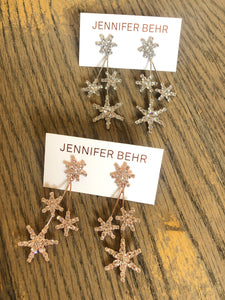 Jennifer Behr Multi Star Drop Earring