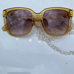 Gucci Mustard Sunglasses