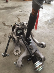 17 AUDI RS7 A7 RIGHT REAR SUSPENSION AXLE KNUCKLE ARMS SPINDLE ASSEMBLY 14 15 16 - thesalvageguysonline
