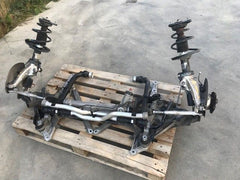 06-12 Porsche 987 CAYMAN S COMPLETE FRONT SUSPENSION KNUCKLE SHOCK SPINDLE ARMS - thesalvageguysonline