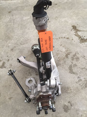 17 AUDI RS7 A7 LEFT REAR SUSPENSION AXLE KNUCKLE ARMS SPINDLE ASSEMBLY 14 15 16 - thesalvageguysonline