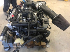 09 FORD MUSTANG SHELBY GT500 5.4 SUPERCHARGED ENGINE TRANSMISSION 22K 07 08