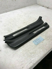 2001 HONDA S2000 AP1 OEM BLACK LEFT RIGHT DOOR SILL PLASTIC TRIM 00 01 02 03