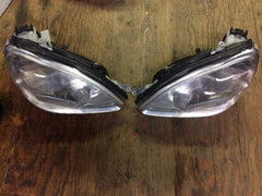 00 01 02 MERCEDES S CLASS W220 FRONT RIGHT LEFT HEADLIGHTS XENON A2208201261 OEM - thesalvageguysonline