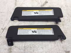 2015 CHEVROLET CAMARO Z28 OEM PAIR OF SUNVISORS LEFT AND RIGHT - thesalvageguysonline