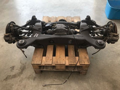 07-14 MERCEDES W216 W212 CL600 V12 COMPLETE REAR DIFFERENTIAL CRADLE SUSPENSION - thesalvageguysonline