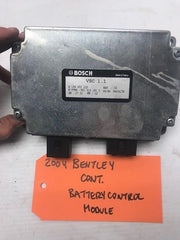 04+ BENTLEY CONTINENTAL GT FLYING SPUR BATTERY CONTROL MODULE COMPUTER 3D0915181 - thesalvageguysonline