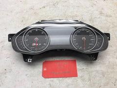 17 AUDI RS7 A7 S7 GAUGE INSTRUMENT CLUSTER SPEEDOMETER METRIC 4G8920935E 12-17