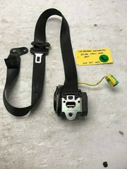 06 07 08 BENTLEY CONTINENTAL FLYING SPUR DRIVERS LEFT SEATBELT BLACK 3W5857705C