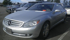 07 MERCEDES CL600 W216 CL63 AMG COMPLETE FRONT CLIP NOSE LIGHTS COOLING HOOD OEM - thesalvageguysonline