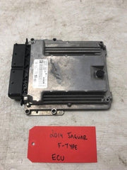 2014 JAGUAR FTYPE F-TYPE 5.0 SC ENGINE ECU ECM COMPUTER CPLA-12B684 14 15 - thesalvageguysonline