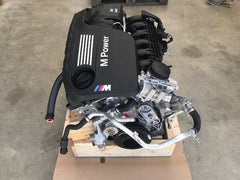 2015 BMW F80 F82 F83 M3 M4 S55 ENGINE TWIN TURBO COMPLETE MOTOR 425HP 7740 MILES - thesalvageguysonline