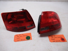 05-08 Audi B7 S4 AVANT OEM REAR LEFT RIGHT TAILLIGHTS 8E9945096F 8E9945095F - thesalvageguysonline