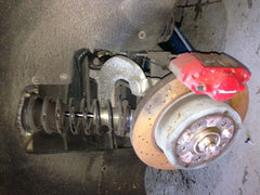 2006 Maserati Quattroporte M139 right rear knuckle control arms spindle hub - thesalvageguysonline