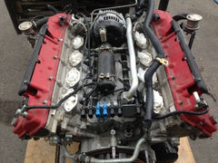 2006 Maserati Quattroporte complete engine motor heads to pan, only 11K no core! - thesalvageguysonline