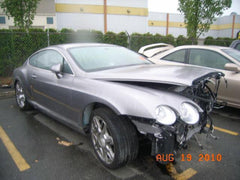09 Bentley Continental GT right rear quarter window felt weatherstrip moulding - thesalvageguysonline