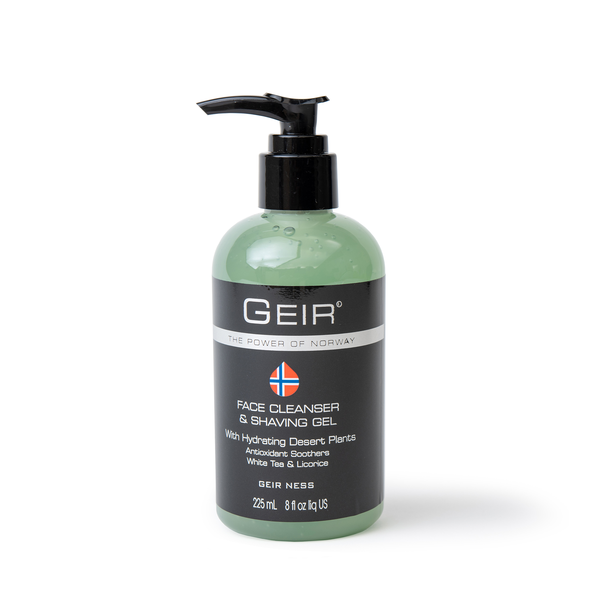 Geir Face Cleanser & Shaving Gel