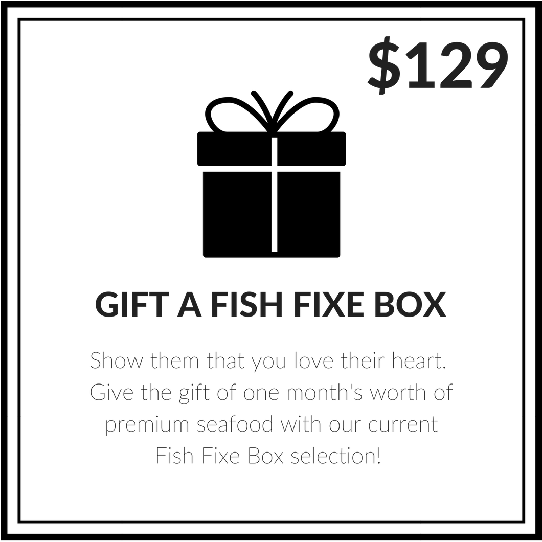 $129 FISH FIXE GIFT CARD