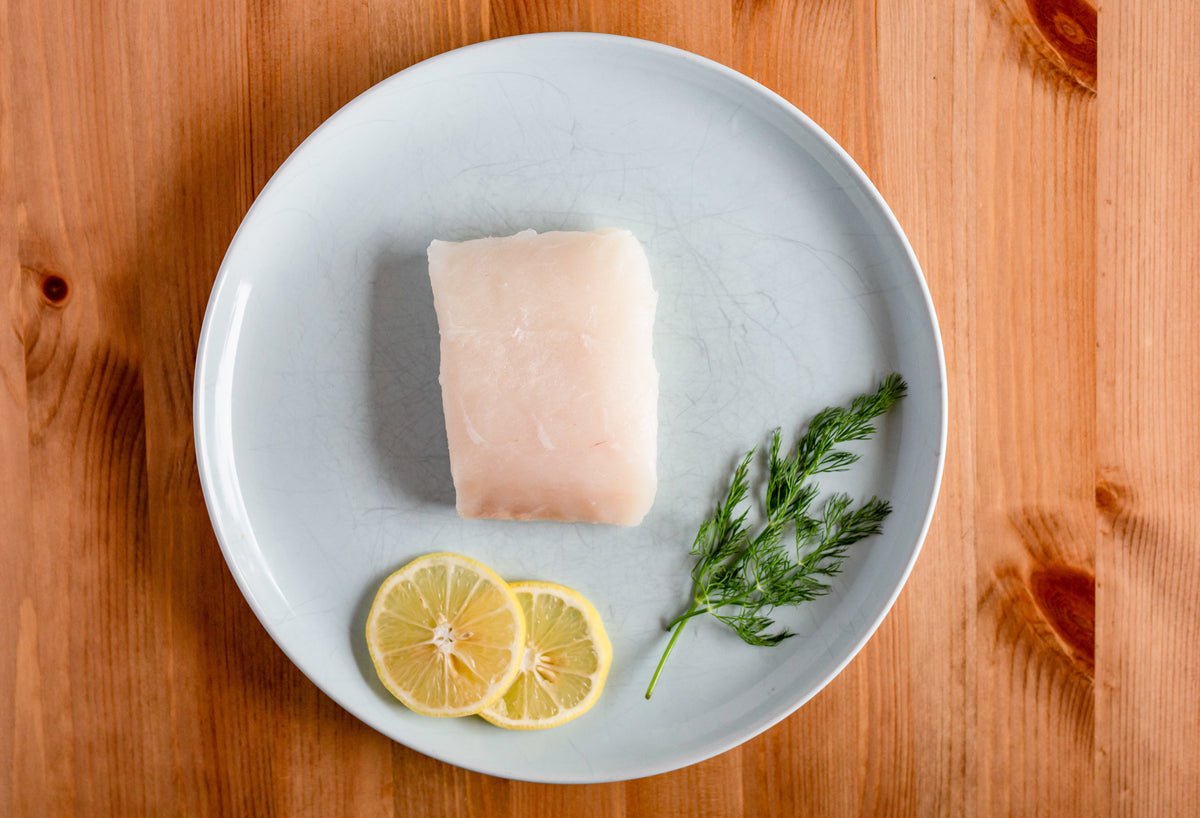 Halibut // 6 oz. portions // 2 portions per pack