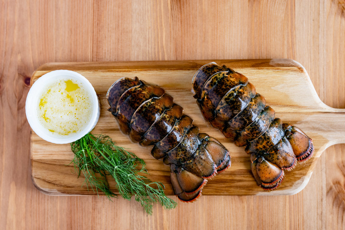 Lobster Tails // 4-6 oz tails // 2 portions per pack