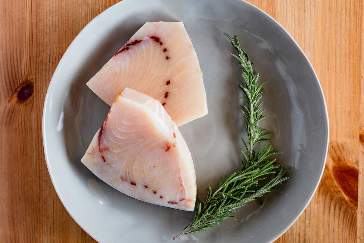 Longline Swordfish // 6 oz. portions // 2 portions per pack