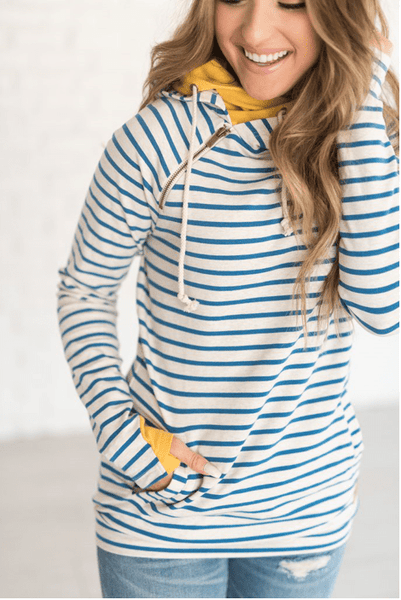 DoubleHood™ Sweatshirt - Hello Sunshine - Sweet Onnie's Boutique