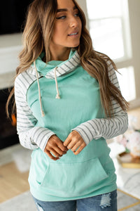 DoubleHood™ Sweatshirt-Mint to Be - Sweet Onnie's Boutique