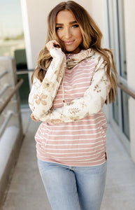 Doublehood Sweatshirt - Beautiful Life - Sweet Onnie's Boutique