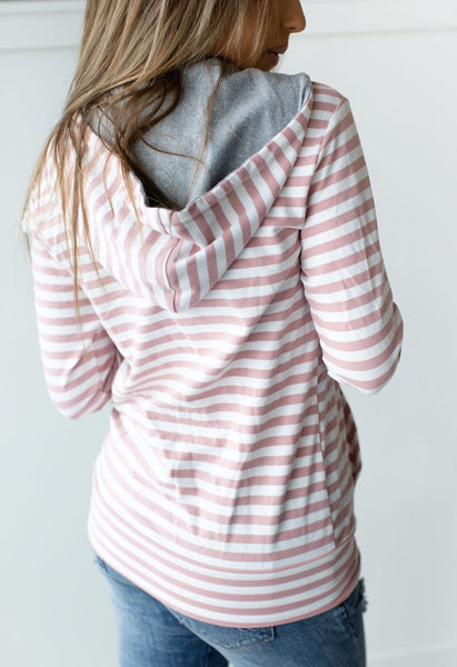 Half Zip-Candy Striper