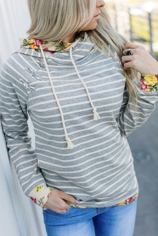 DoubleHood™ Sweatshirt-Pacific Grove - Sweet Onnie's Boutique