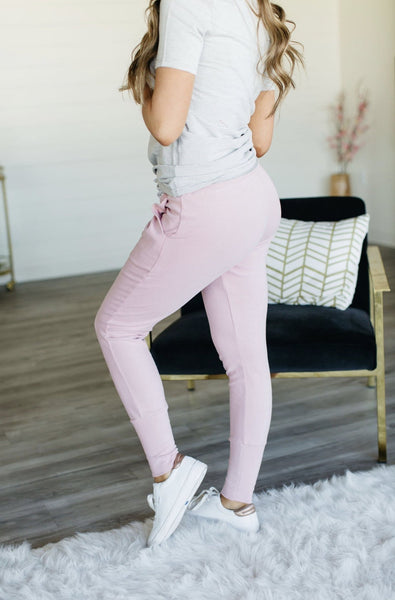 Pink Perfect Joggers - Sweet Onnie's Boutique