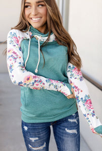 Doublehood Sweatshirt - Between You & I - Sweet Onnie's Boutique