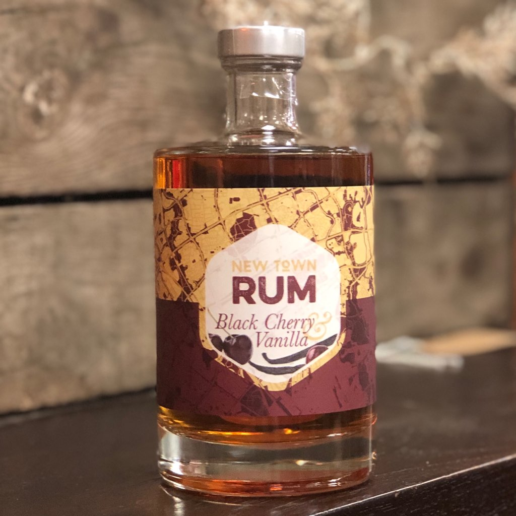 New Town Rum - Black Cherry & Vanilla 50cl - 40% VOL