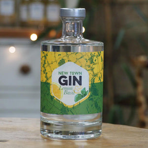 New Town Gin Lemon & Basil - 50cl - 40% VOL