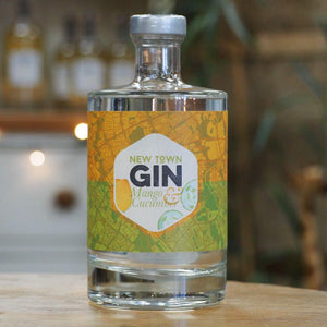 New Town Gin Mango & Cucumber 50cl - 40% VOL